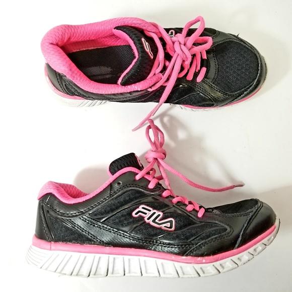 Fila Pinkblack Running Shoes Women Size